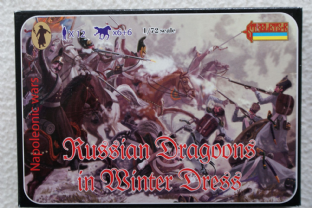 Strelets 1/72 ST0067 Russian Dragoons in Winter Uniform (Napoleonic)